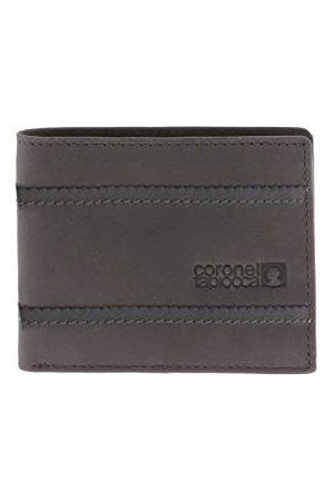 Coronel Tapiocca Portfel dla mężczyzn/młodzieży z przegródkami na banknoty, kieszeń, kieszenie na karty i przegródki wewnętrzne, khaki (beżowy) - WLX2700005