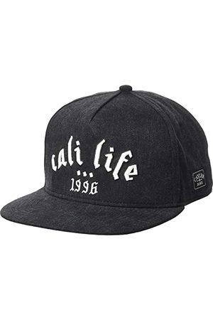 Cayler & Sons Uniseks Metal Life Cap Baseball, Black/White, one Size
