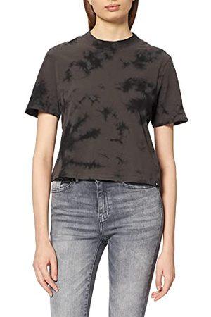 Hurley Damska koszulka w kształcie litery W Mock Vintage Black Deamy Tiedye S