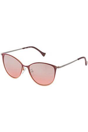 Police Męskie SPL190548NTX okulary przeciwsłoneczne, pomarańczowe, 54