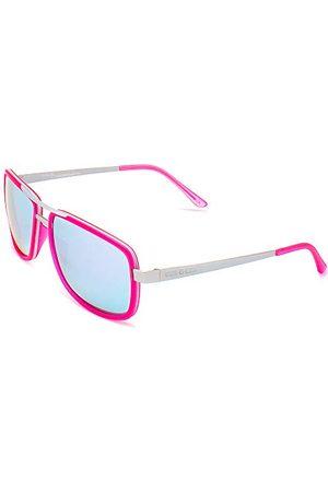 Italia Independent Unisex 0071-018-000 okulary przeciwsłoneczne, różowe (różowe), 55.0