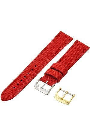 Morellato Bransoletka skórzana do zegarka męskiego CORDURA/2 czerwona 18 mm A01U2779110083CR18