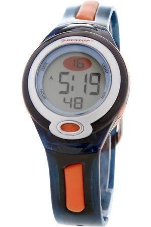 Dunlop Damski cyfrowy zegarek kwarcowy z gumową bransoletką GAME2