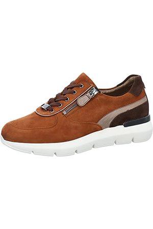 Hassia Damskie buty typu sneaker Bordeaux, Nut Darkbrown 2486, 42 EU Weit