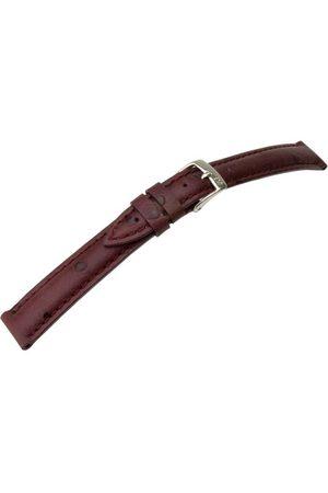 Morellato Bransoletka skórzana do zegarka unisex CHAGALL bordowa 14 mm A01X1865498081CR14