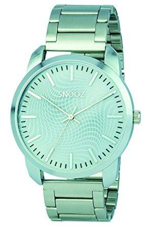 Snooz Męski analogowy zegarek kwarcowy z bransoletką ze stali szlachetnej Saa0043-65