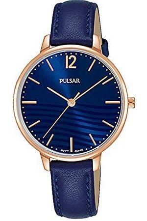 Pulsar Damski analogowy zegarek kwarcowy z bransoletką ze stali szlachetnej kwarcowy.