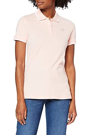 Lotto Damska koszulka polo Classica W Stc Pq, Rosa E Bianco, S