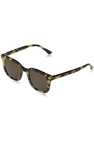 Calvin Klein EYEWEAR CK20538S-244 okulary przeciwsłoneczne, uniseks, Khaki Tortoise/Solid Warm Smoke, jeden rozmiar