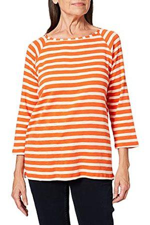 CECIL T-shirt damski, Smoked papryka pomarańczowa, L