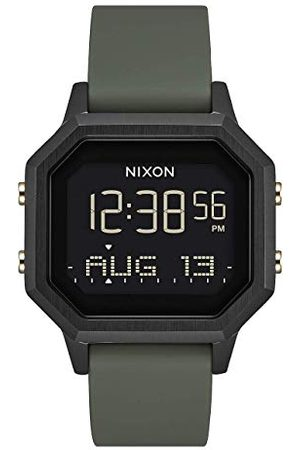 Nixon Damski cyfrowy chiński automatyczny zegarek z silikonową bransoletką A1211-178-00