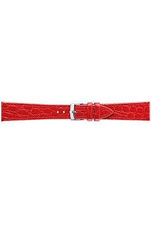 Morellato Bransoletka skórzana do zegarka męskiego BIRMINGHAM bordowa 20 mm A01U1563821181CR20