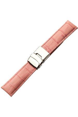Morellato Bransoletka skórzana do zegarka męskiego TIPO różowa 20 mm A01U3084656187CR20