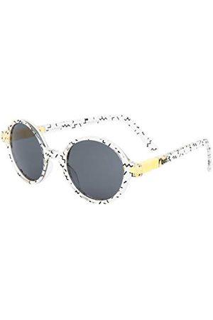 Ki ET LA Unisex dziecięce okulary przeciwsłoneczne Gafa de Sol Sun años Zigzag redondas CraZig-Zag So 4-6 lat okrągłe