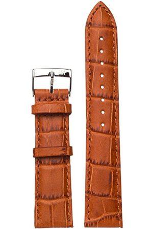 Morellato Bransoletka skórzana do zegarka unisex Bolle beż 20 mm A01X2269480146CR20