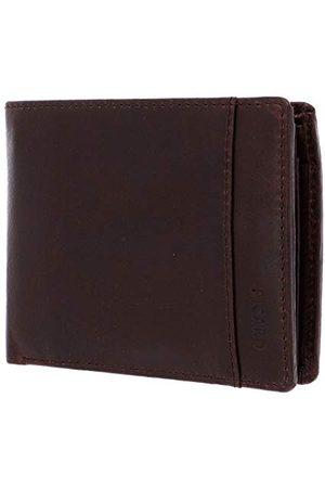 Picard Męski portfel z serii Buddy 1, w kolorze kawowym / brązowym, z olejowanej skóry 595392Z055