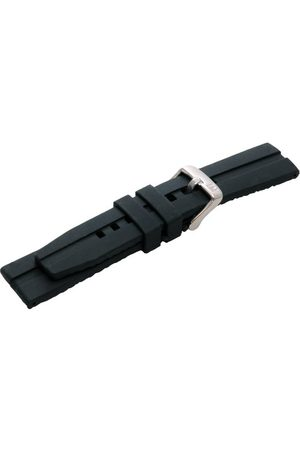 Morellato Bransoletka skórzana do zegarka dla mężczyzn NILO schwraz 20 mm A01U3325187019CR20