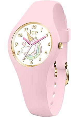 Ice-Watch ICE fantasia Unicorn pink - różowy zegarek z silikonowym paskiem Bardzo mały (28 mm) Extra small (28 mm) Rosa