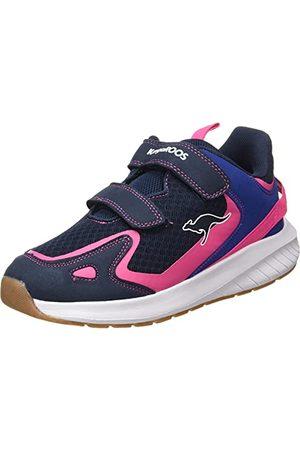 KangaROOS Damskie buty sportowe K-Fort One V, - Dk Navy Daisy Pink - 39 eu