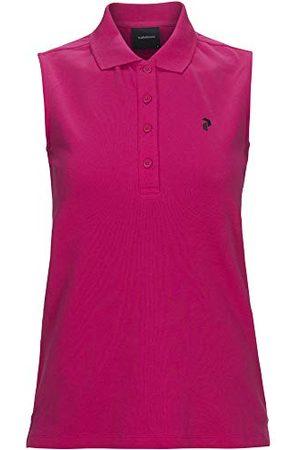 Peak Performance Damska koszulka polo Classic Pique, Fusion Pink, L