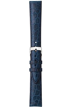 Morellato Bransoletka skórzana do zegarka unisex LIVERPOOL niebieska 30 mm A01U0751376064CR18