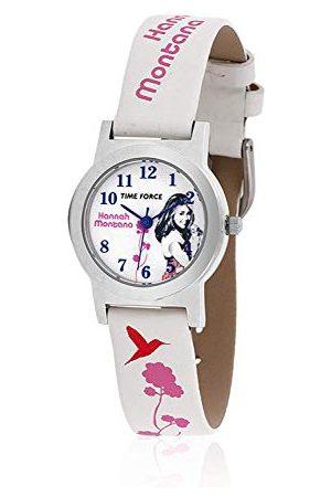 TIME FORCE Chłopcy analogowy zegarek kwarcowy ze skórzanym paskiem HM1002
