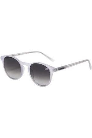 Kimoa Unisex_dorosły Barcelona Le Mans Blanca okulary przeciwsłoneczne, mlecznobiały, jeden rozmiar