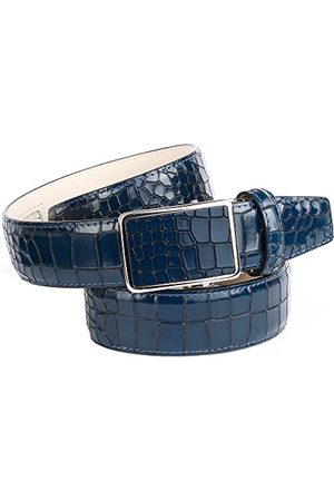 Anthoni Crown Pasek męski, Blau (Blau 080), 3XL