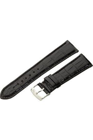 Morellato Bransoletka skórzana do zegarka męskiego AMADEUS czarna 22 mm A01U0518339019CR22