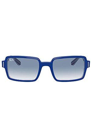 Ray-Ban Rb2189 Benji prostokątne okulary przeciwsłoneczne, na Vichy Blue / , 54 cm