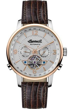 INGERSOLL 1892 Męski analogowy zegarek automatyczny ze skórzanym paskiem I00701B