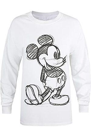 Disney Damska koszulka z szkicem Mickey