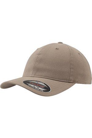 Flexfit Unisex Garment Washed Cotton Dad Hat czapki, khaki, S/M