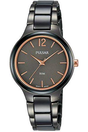 Pulsar Kwarcowy zegarek damski stal szlachetna z metalowym paskiem PH8435X1