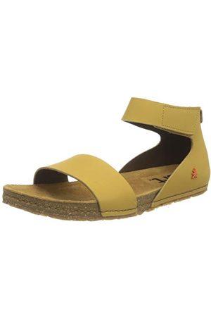 Art Damskie sandały Creta płaskie, żółty - słońce - 37 eu