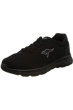 KangaROOS Damskie buty typu sneaker Kn-Braga, - Jet Black Mono - 40 EU