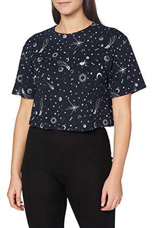 People Tree Damska piżama Cropped Tee górna część, grantowy, 34 PL