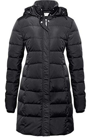 bellybutton Damski płaszcz Arlene Down z długim rękawem dla kobiet w ciąży, Black (1390), 38 PL