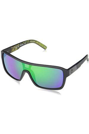 Dragon EYEWEAR DR Remix ION-007 okulary przeciwsłoneczne uniseks, Matowa czerń/Terrafir/Ll Green Ion, jeden rozmiar