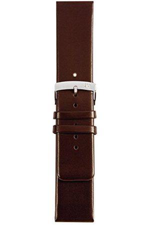 Morellato Bransoletka skórzana do zegarka unisex LARGE brązowa 20 mm A01X3076875032CR28