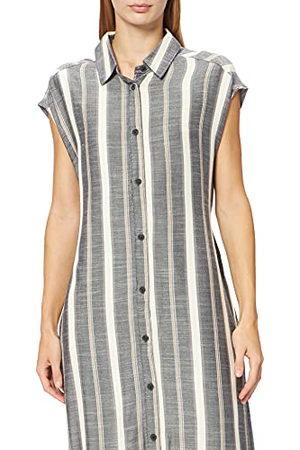 Hurley Damska sukienka w kształcie litery W z przodu Midi koszula w stylu casualowym pasek nad morzem S
