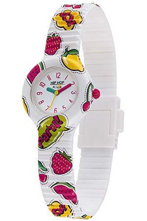 Hip Analogowy zegarek kwarcowy dla dziewcząt z silikonowym paskiem HWU1036