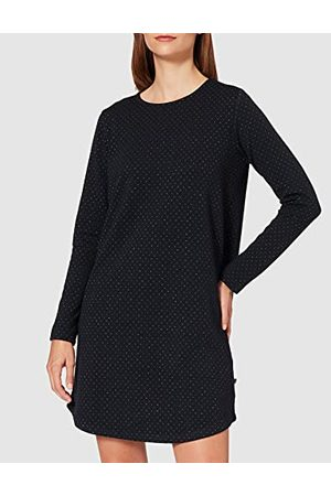 LTB Sukienka damska Cetipe w luźnym stylu, Navy Lurex Jaquard 12510, XS