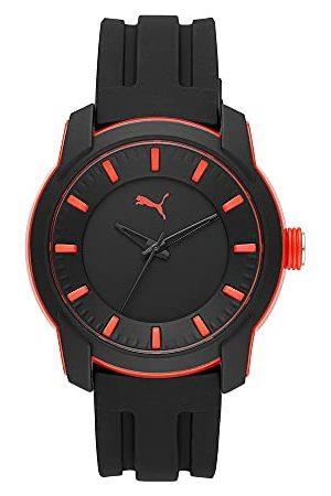 PUMA Męski zegarek analogowy kwarcowy 32015118 Taśma One Size