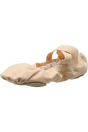 Bloch Dance damskie Pro elastyczne płótno podzielona podeszwa, buty baletowe, - 38.5 EU