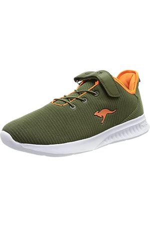 KangaROOS Unisex Kl-fresh Ev Sneaker, - Oliwkowy neonowy - 36 EU