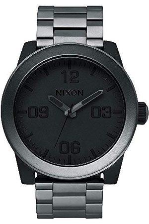 Nixon Męski analogowy zegarek kwarcowy z powłoką ze stali szlachetnej A3461062-00