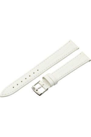 Morellato Bransoletka skórzana do zegarka męskiego BIRMINGHAM biała 16 mm A01U1563821017CR16