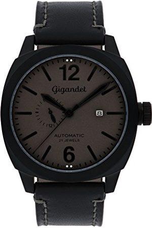 Gigandet Męski zegarek na rękę automatyczny analogowy ze skórzaną bransoletką Red Baron G16-007