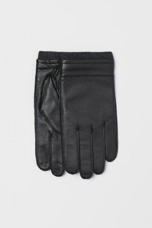 H&M Skórzane rękawiczki